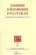 Cahiers D'Economie Politique T.51; les économistes autrichiens 1870-1940