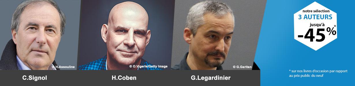 Actualité Littéraire : 3 auteurs incontournables