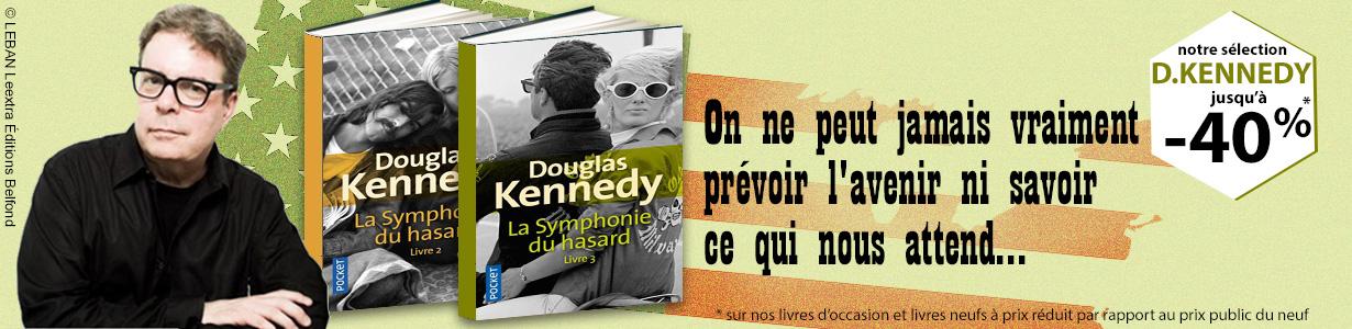 Douglas Kennedy : Jusqu'à 40% de remise sur ses livres
