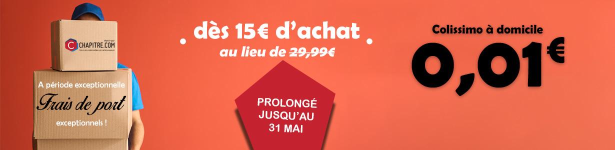 Colissimo à domicile dàs 0,01€