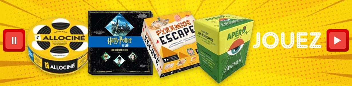 Jeux d'esprits, Super Quiz, super blocs et autres cahiers d'activités...