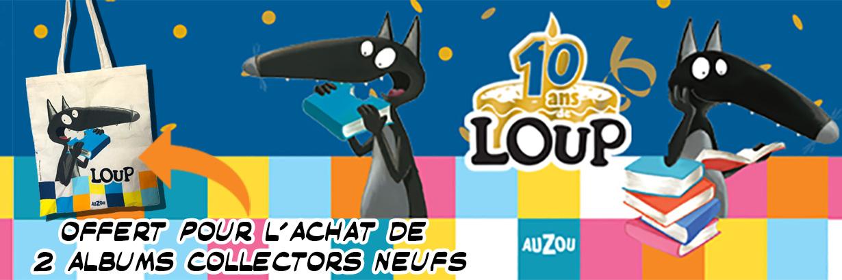 Le loup d'Auzou fête ses 10 ans