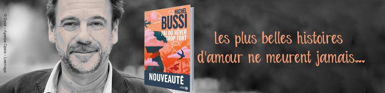 Michel BUSSI : Nouveauté et sélection de livres