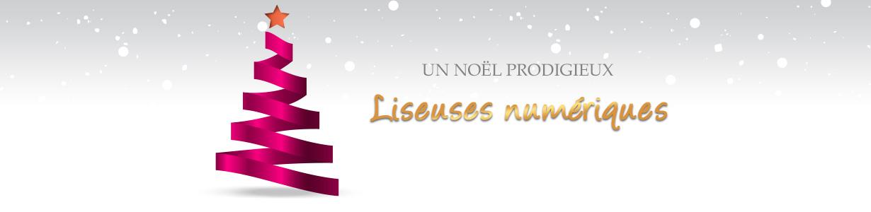 Noël prodigieux : boutique Liseuses numériques