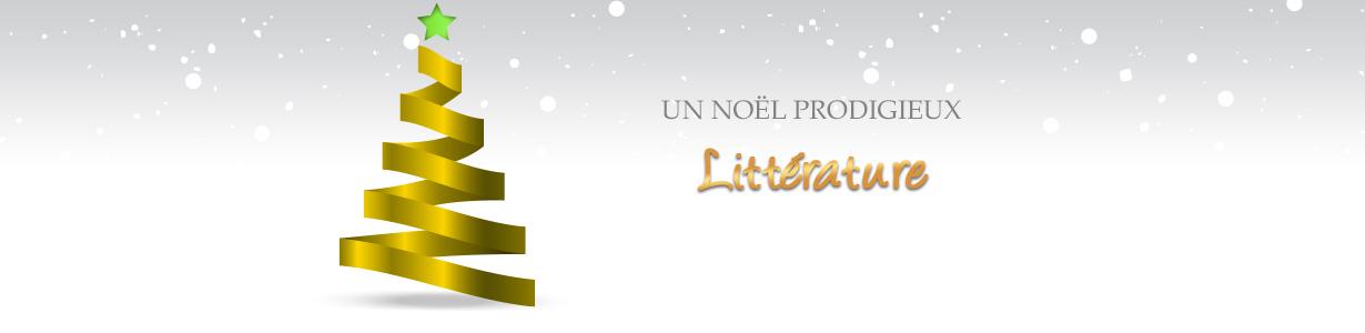 Noël prodigieux : boutique Littérature
