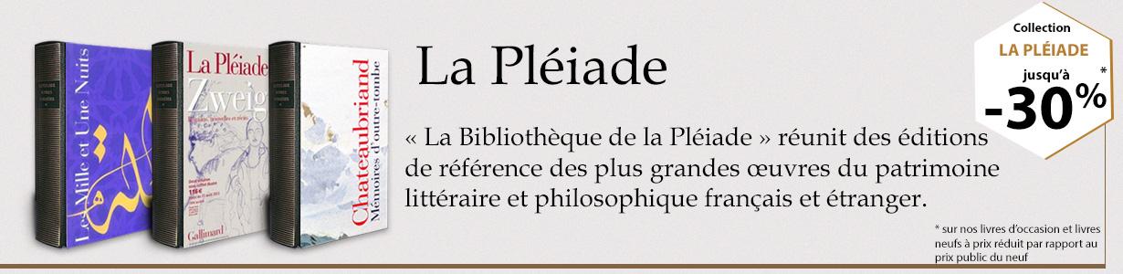 Collection La Pléiade : Livres neufs et d'occasion jusqu'à -30%
