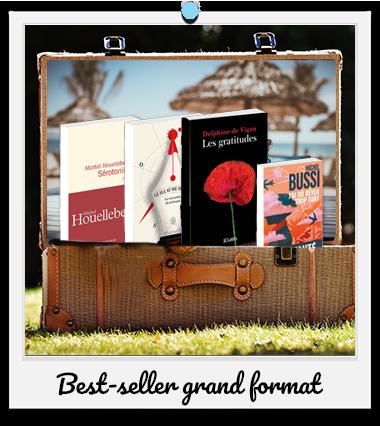 Vos lectures pour l'été : Best-seller grand format