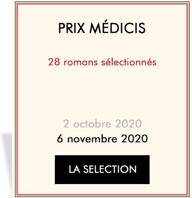 Auteurs en lice pour le Medicis 2019