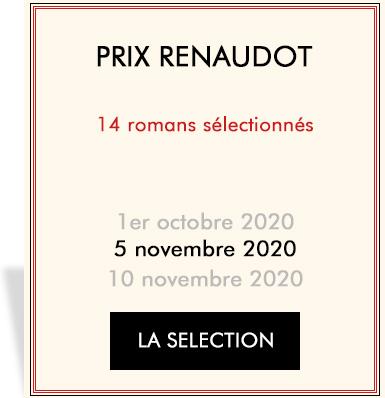 Auteurs en lice pour le Renaudot 2019