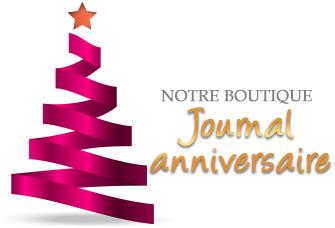 Noël prodigieux : Notre boutique Journal anniversaire