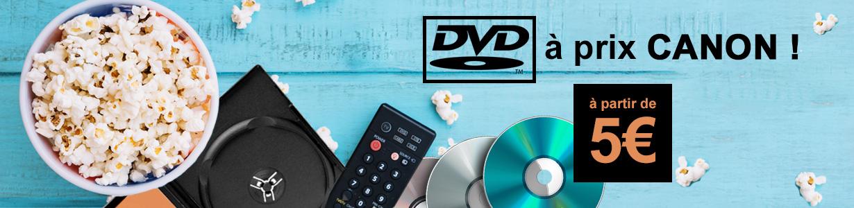 Dvd à prix canon à partir de 5€