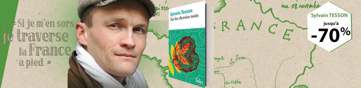 Sylvain TESSON : Jusqu'à 70% de remise sur ses livres
