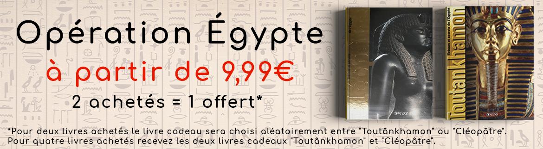 Opération Egypte : 2 achetés = 1 offert