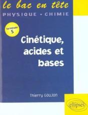 Cinetique Acides Et Bases Terminale S - Intérieur - Format classique