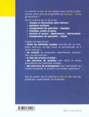 Cinetique Acides Et Bases Terminale S - 4ème de couverture - Format classique