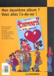 Tamara T.1 ; combien ?! - 4ème de couverture - Format classique