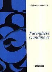 Parenthese Scandinave - Couverture - Format classique