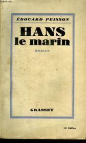 Hans Le Marin. - Couverture - Format classique