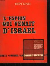 L'Espion Qui Venait D'Israel. - Couverture - Format classique