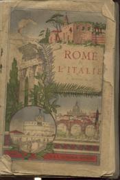 Rome Et L Italie - Couverture - Format classique