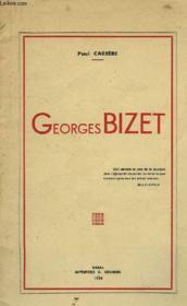 Georges Bizet - Couverture - Format classique