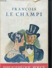 Francois Le Champi - Couverture - Format classique