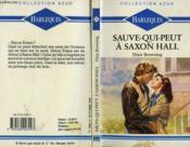 Sauve Qui Peut A Saxon Hall - Belonging - Couverture - Format classique