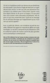 Le jardin des silences - 4ème de couverture - Format classique