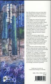 Secrets d'épaves ; plongeurs, archéologues et collectionneurs - 4ème de couverture - Format classique