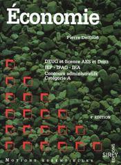 Economie 4e Ed Not.Ess - Intérieur - Format classique
