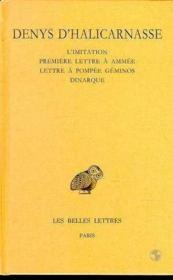 Opuscules rhétoriques t.5 - Couverture - Format classique