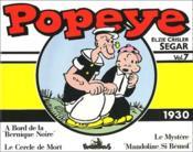 Popeye t.7 ; 1930 - Couverture - Format classique