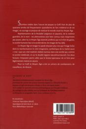 Un Moyen-âge en images - 4ème de couverture - Format classique