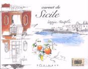 Carnet de sicile - Couverture - Format classique