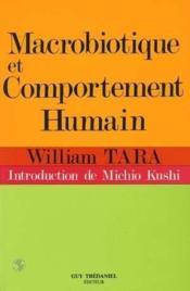 Macrobiotique et comportement humain - Couverture - Format classique