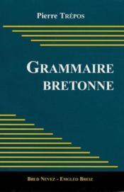 Grammaire bretonne - Couverture - Format classique