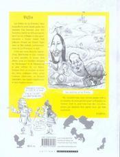 Les nouvelles fables de La Fontaine - 4ème de couverture - Format classique