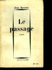 Le Passage. - Couverture - Format classique