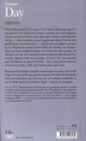 Daemone - 4ème de couverture - Format classique