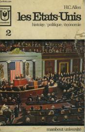 Les Etats-Unis - Histoire / Politique / Economie - 2 - Couverture - Format classique