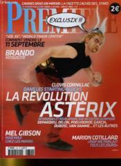 Premiere N° 353 - Clovis Cornillac Dans Le Starting Blocks, La Revolution Asterix - Couverture - Format classique