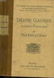 Theatre Classique 17° Et 18° Siecle - Couverture - Format classique