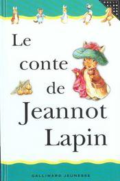 Le conte de jeannot lapin - Intérieur - Format classique