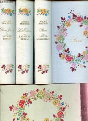 COFFRET EN 3 VOLUMES : René ou la vie de Chateaubriand + Les titans ou les trois Dumas + Don Juan ou la bie de Byron. - Couverture - Format classique