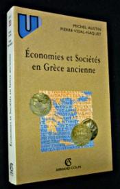 Economies Et Societes En Grece Ancienne ; 7e Edition - Couverture - Format classique