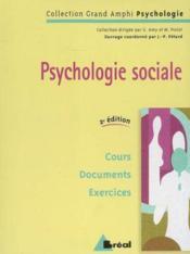 Psychologie sociale (grand amphi) - Couverture - Format classique