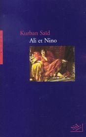 Ali et nino - ne - Intérieur - Format classique