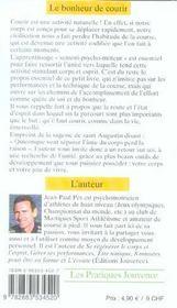Bonheur De Courir (Le) N.116 - 4ème de couverture - Format classique