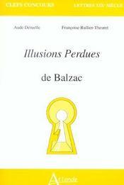 Les illusions perdues de balzac - Intérieur - Format classique