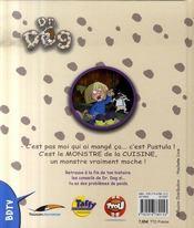 Docteur dog ; le monstre de la cuisine - 4ème de couverture - Format classique